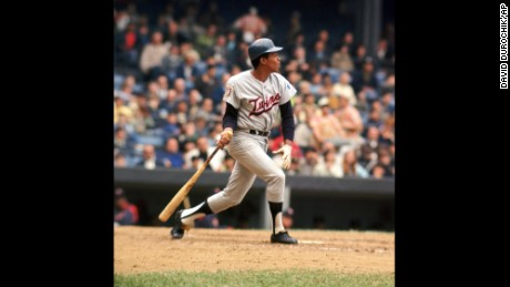 Rod Carew was inducted to the National Baseball Hall of Fame in 1991.