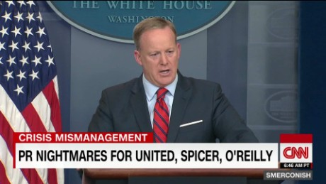 Crisis mismanagement: United, Spicer, O'Reilly_00045701
