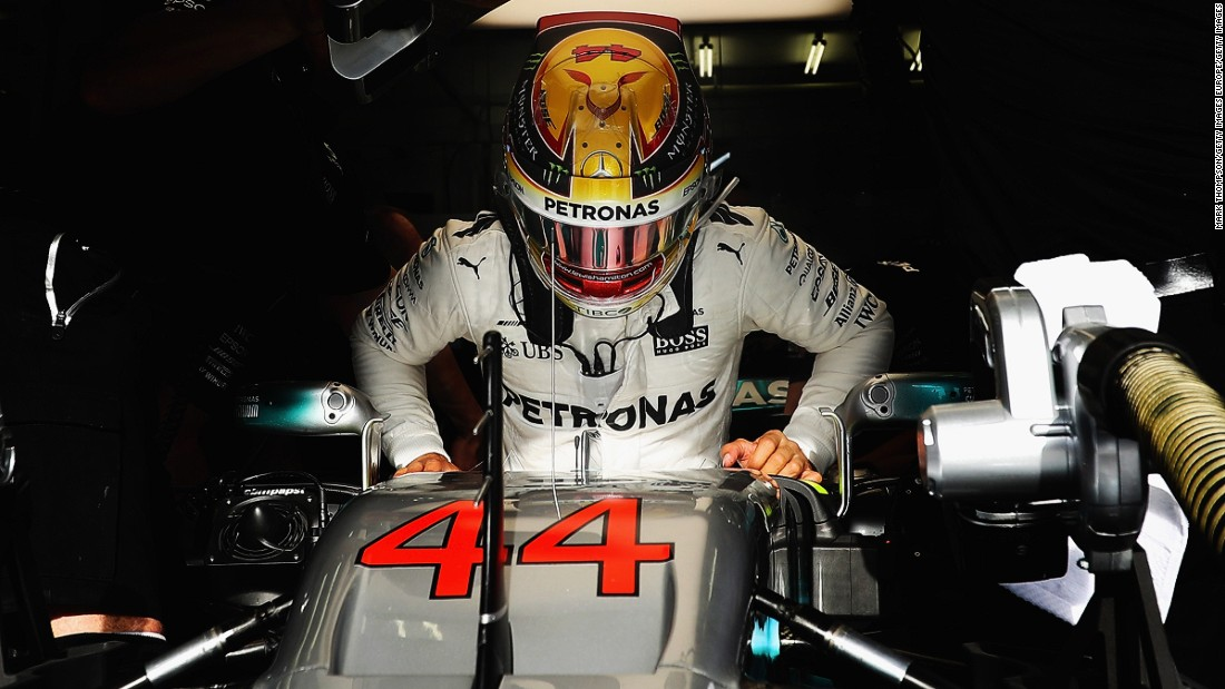 Hamilton won last weekend's Chinese Grand Prix to draw level on 43 points with Ferrari's Sebastian Vettel in the drivers' championship.