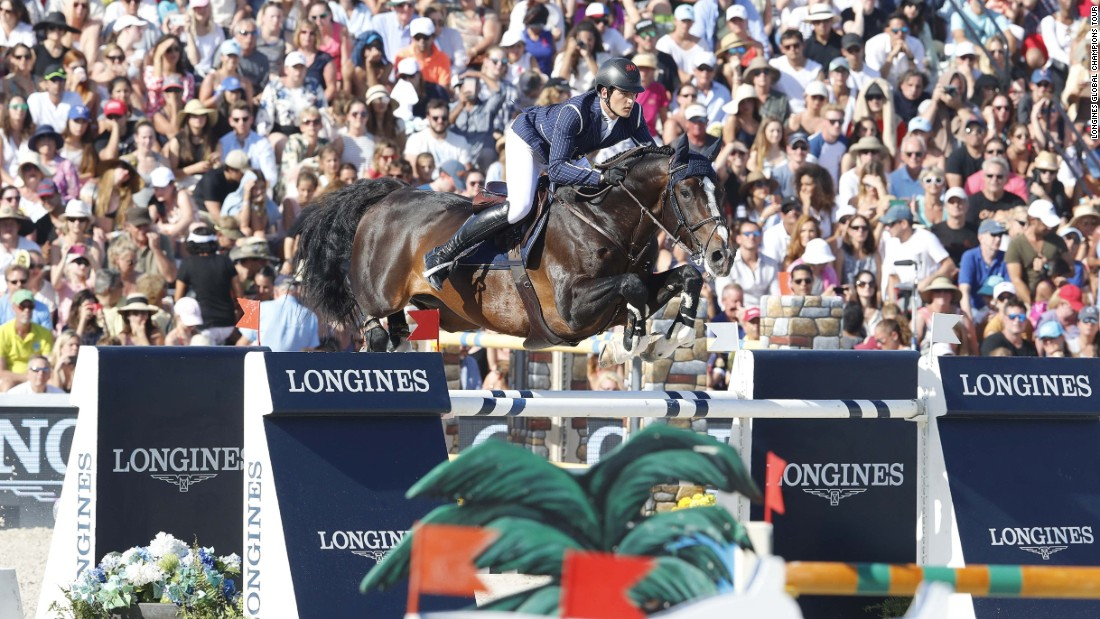 Guery's compatriot, Nicola Philippaerts steered his mount Chilli Willi to third place.
