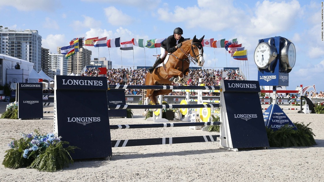 Guery won the event riding a clear round in a  time of 37.39 seconds.