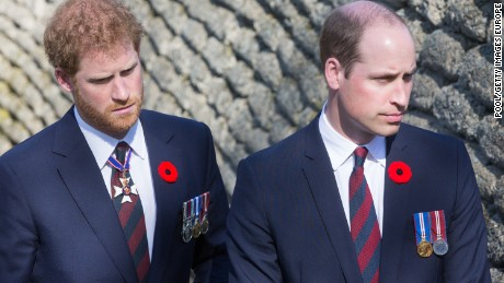 VIMY, FRANCE - APRIL 09: The Prince of Wales, The Duke of Cambridge and Prince Harry visit the trenches and tunnels used during the battle of Vimy Ridge, as part of the 100th year anniversary of the battle on April 9, 2017 in Vimy, France. (Photo by Andy Commins - Pool/Getty Images)