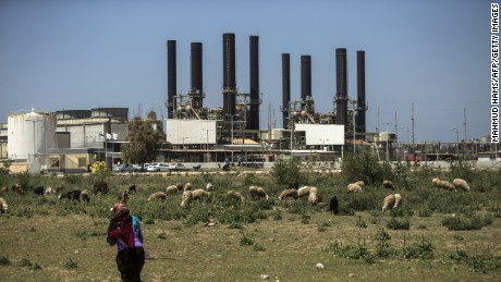 Gaza's only power plant has run out of fuel.