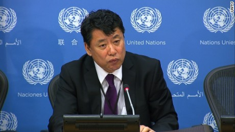 North Korean envoy at UN warns of nuclear war possibility