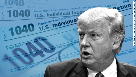 Why has Donald Trump struggled so hard to keep his tax returns secret?
