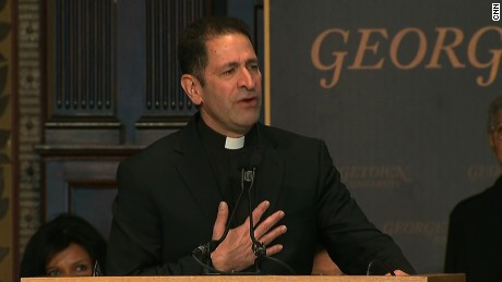 In emotional service, Jesuits and Georgetown repent for slave trading