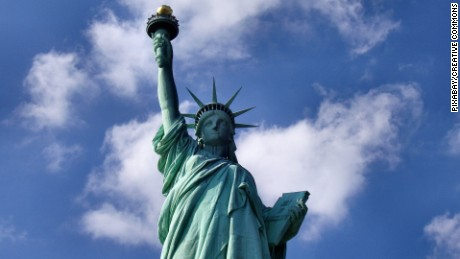 White House policy adviser downplays Statue of Liberty's famous poem