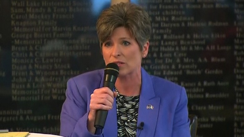 Sen. Ernst bothered by Trump's Florida trips