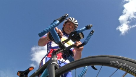 cyclist to attempt world-record ride across cuba curnow_00000502
