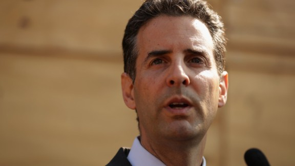 BALTIMORE, MD - MAY 07: U.S. Rep. John Sarbanes (D-MD) speaks during a news conference in front of the burned CVS in the Sandtown neighborhood May 7, 2015 in Baltimore, Maryland. (Photo by Alex Wong/Getty Images)