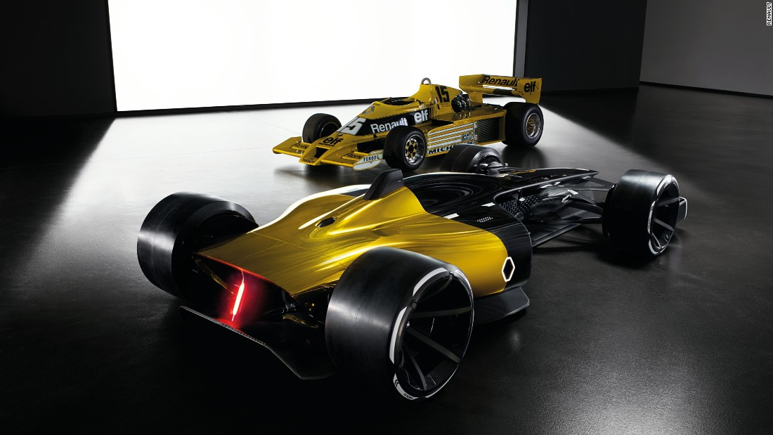 Renault's iconic yellow and black livery, however, remains the same, and the engine is based on the V6 turbocharged engine used by the 1977 vehicle.