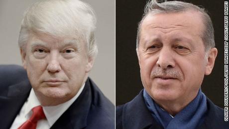 Trump speaks with Erdogan after threatening to 'devastate' Turkey's economy