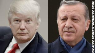 Trump speaks with Erdogan after threatening to 'devastate' Turkey's economy
