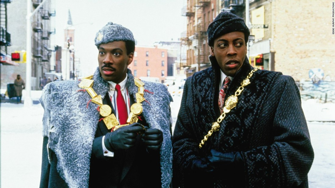 "<strong>""Coming To America"": </strong>Eddie Murphy stars as a prince looking for his true love with Arsenio Hall is his best friend in this 1988 comedy. <strong>(Hulu) </strong>"