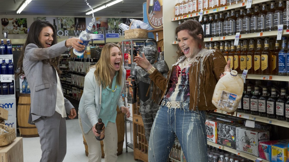 "<strong>""Bad Moms""</strong>: A group of suburban mothers cut loose in this comedy starring Mila Kunis, Kristen Bell, and Kathryn Hahn. <strong>(Hulu) </strong>"