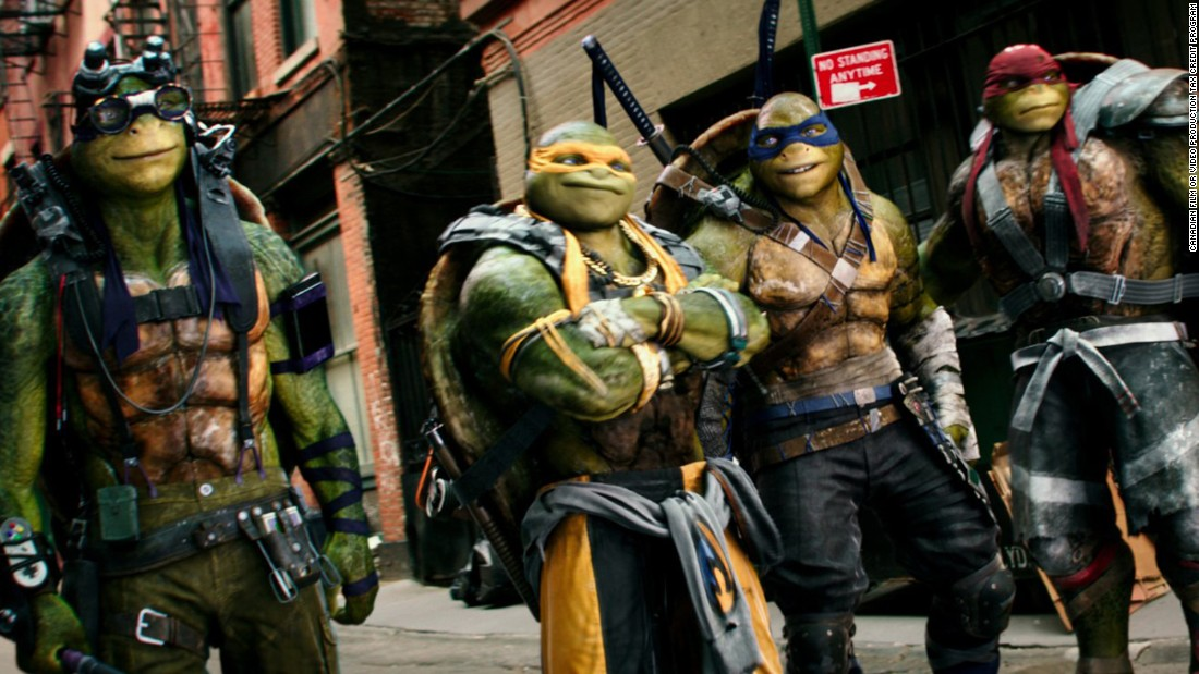 "<strong>""Teenage Mutant Ninja Turtles: Out of the Shadows"":</strong> The turtles in a half-shell were joined by Megan Fox and Will Arnett in this sequel. <strong>(Amazon Prime, Hulu) </strong>"