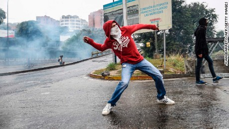 Anti-government protests in Venezuela