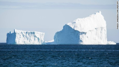 Paddy Wadden took this photo of a huge iceberg on April 9, 2017, in Ferryland, Newfoundland and Labrador, Canada.