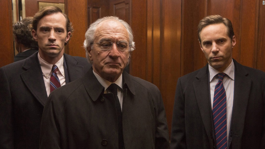 "<strong>""The Wizard of Lies"":</strong> Robert DeNiro stars as Bernie Madoff in this TV film about the real life investment adviser who orchestrated  one of the biggest financial fraud schemes in American history. <strong>(HBO Now) </strong>"