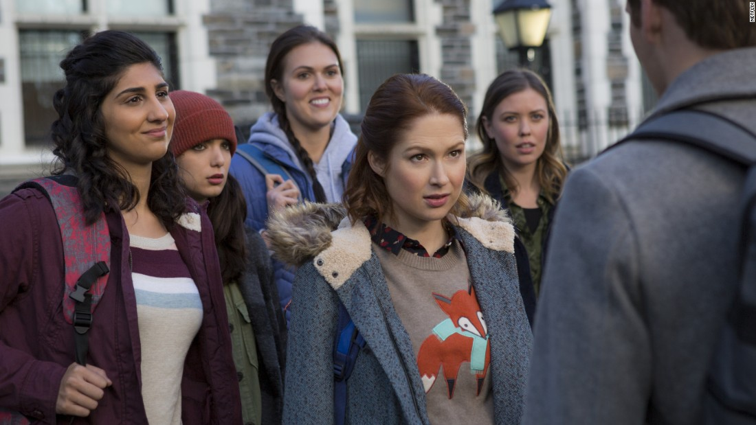 'Unbreakable Kimmy Schmidt,' starring Ellie Kemper, scored five nominations. The Netflix series is up for outstanding comedy.