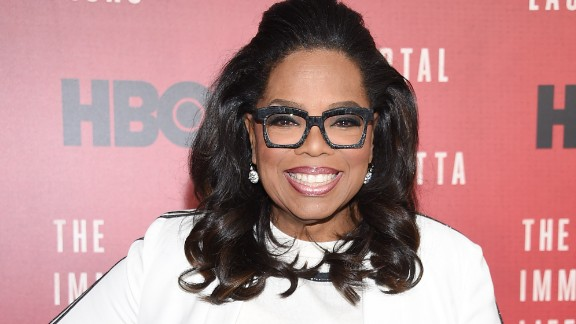 """NEW YORK, NY - APRIL 18:  Oprah Winfrey attends """"The Immortal Life of Henrietta Lacks"""" premiere at SVA Theater on April 18, 2017 in New York City.  (Photo by Dimitrios Kambouris/Getty Images)"""