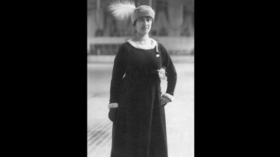 Magda Julin of Sweden competed at the 1920 Olympic Games as an individual figure skater while four months pregnant. She won gold at the games, which took place in Antwerp that year. Julin continued skating well into her 90s, according to the Swedish Olympic website, and died at the age of 96.