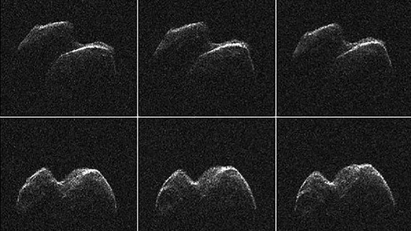 Asteroid 2014 JO25 was imaged by radar from NASA