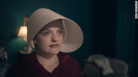 Elisabeth Moss in 'The Handmaid's Tale'