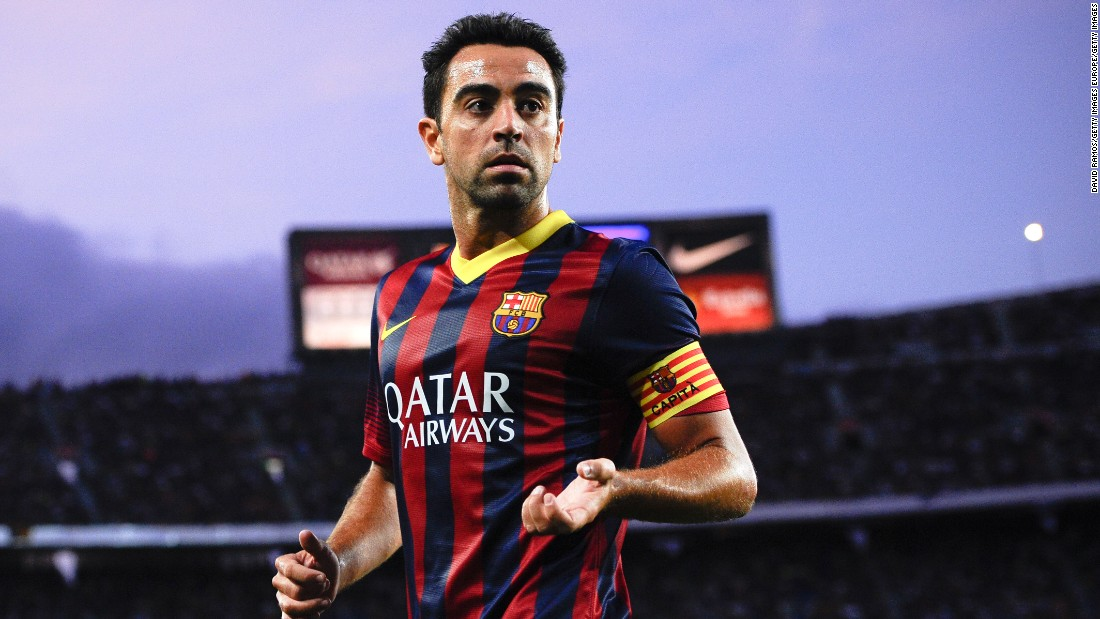 Barcelona legend xavi unveils his ultimate footballer cnn voltagebd Images