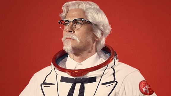 Rob Lowe is the latest actor to portray Colonel Sanders.