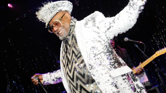 George Clinton fought to win back the rights to his master recordings.
