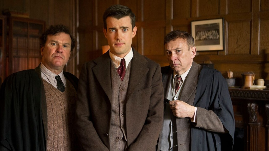 "<strong>""Decline and Fall"": </strong>Based on the novel by Evelyn Waugh, this three-part series follows Paul Pennyfeatheran, an inoffensive divinity student at Oxford University in the 1920s, who is wrongly dismissed after having been made the victim of a prank. <strong>(Acorn TV)</strong>"