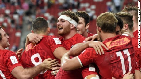 Highlights: Canada wins Singapore Rugby Sevens