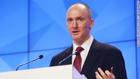 Carter Page struggles to explain how he could advise both Kremlin and Trump team