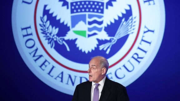 WASHINGTON, DC - APRIL 18:  U.S. Homeland Security Secretary John Kelly delivers his first public remarks since being appointed by President Donald Trump at the Jack Morton Auditorium on the campus of The George Washington University  April 18, 2017 in Washington, DC. Kelly said that the threat of terrorism since the attacks of September 11, 2001 is bad 'and getting worse.'  (Photo by Chip Somodevilla/Getty Images)