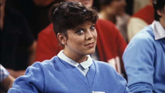 """Actress Erin Moran, best known as kid sister Joanie Cunningham on the TV show """"Happy Days,"""" was found dead on April 22. She was 56. Moran likely died from complications of Stage 4 cancer, officials said."""
