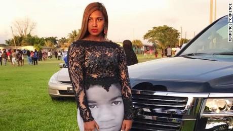 e7aa56aa61a Teen wears Black Lives Matter dress to prom Teen wears Black Lives ...