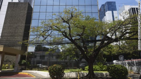 General view of the building where Panama-based Mossack Fonseca law firm offices are located, showing the sign identifying the firm was removed, in Panama City on March 30, 2017. It's been a year since the Panama Papers burst on the scene. The scandal rocked governments, exposed high-profile personalities, triggered scores of investigations around the world and dealt a blow to Panama as an offshore financial hub. A trove of 11.5 million digital records from the Panamanian law firm Mossack Fonseca revealed how many of the world's wealthy used offshore companies to stash assets. / AFP PHOTO / RODRIGO ARANGUA        (Photo credit should read RODRIGO ARANGUA/AFP/Getty Images)