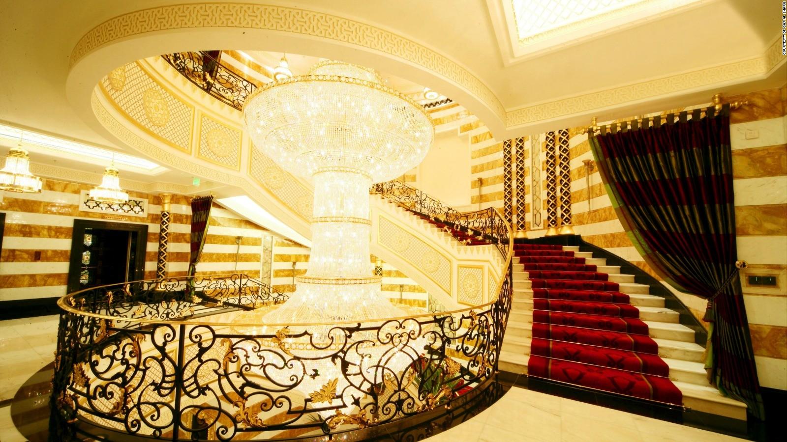 Luxury Hotel Lobby Stairs