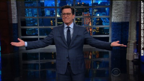 Colbert tears apart Trump's accomplishments