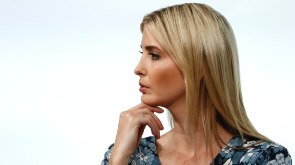First Daughter and Advisor to the US President Ivanka Trump attends the start of a panel discussion at the W20 women