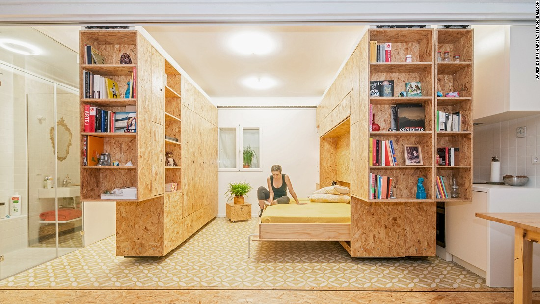 design small home.  Think big Ingenious micro homes from around the world CNN Style