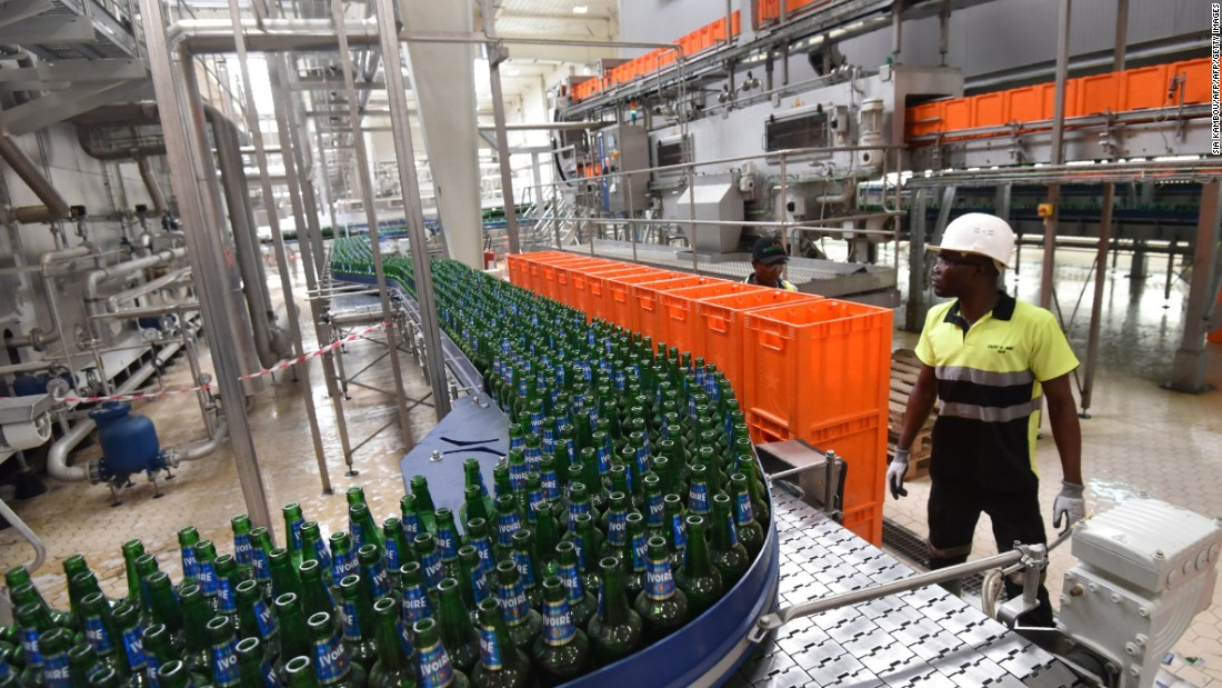 Heineken has launched a new brewery named 'Brassivoire' in association with distribution specialists CFAO on the outskirts of the Ivorian economic capital Abidjan.