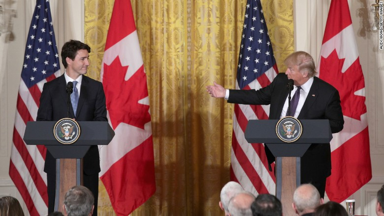 Exclusive: Trump invokes War of 1812 in testy call with Trudeau over tariffs
