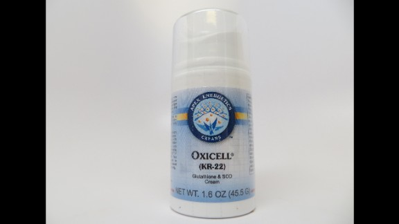 KR22 Oxicell, marketed and sold by Nature's Treasure Inc.