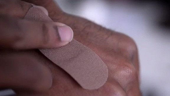 Lize Hartley created Plasta, a company that makes plasters of different shades to match the skin colors of South Africa's diverse population.
