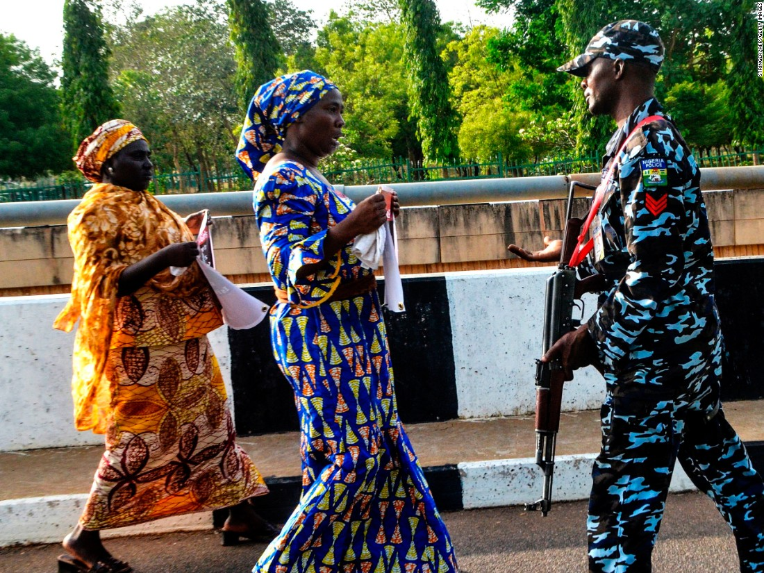 Chibok girls still missing