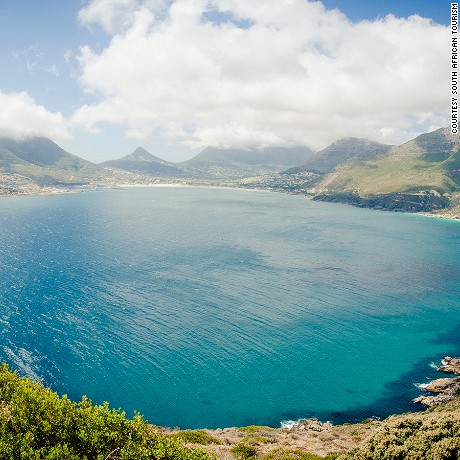 Beautiful south africa Scenic view from Chapmans Peak