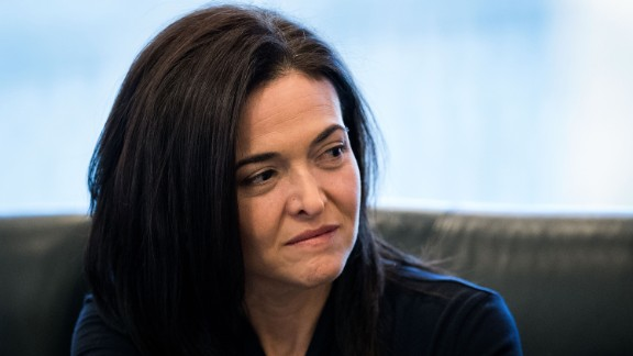 NEW YORK, NY - DECEMBER 14: Sheryl Sandberg, chief operating officer of Facebook, listens during a meeting of technology executives and President-elect Donald Trump at Trump Tower, December 14, 2016 in New York City. This is the first major meeting between President-elect Trump and technology industry leaders. (Photo by Drew Angerer/Getty Images)