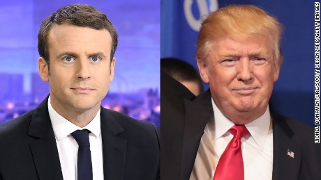 Macron tells Trump he wants to protect climate